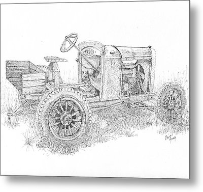 Chevy Doodlebug Metal Print by David King