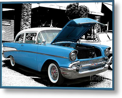 Metal Print featuring the photograph Chevy Love by Victoria Harrington