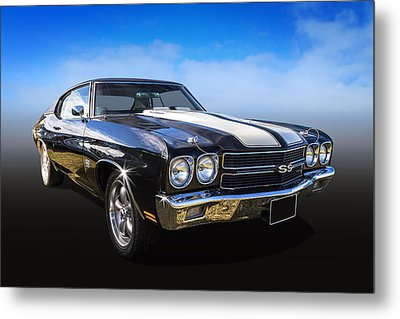 Chevy Muscle Metal Print by Keith Hawley