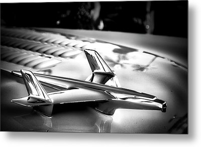 Chevy Noir Metal Print by Mark David Gerson