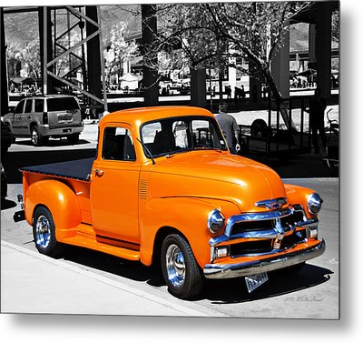 Chevy Pick Up  Metal Print