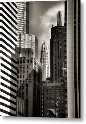 Chicago Architecture - 13 Metal Print by Ely Arsha