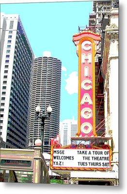 Chicago Metal Print by Audrey Venute