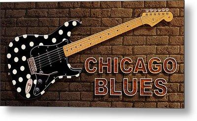 Chicago Blues 2 Metal Print