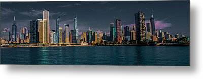 Chicago Cityscape Metal Print