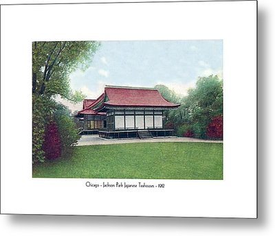Chicago - Japanese Tea Houses - Jackson Park - 1912 Metal Print