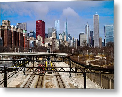 Chicago Metro Metal Print