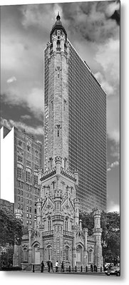 Chicago - Old Water Tower Metal Print by Christine Till