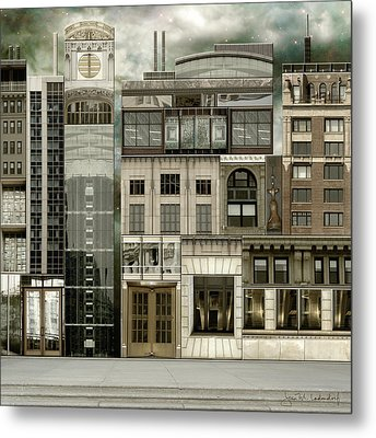 Chicago Reconstruction 2 Metal Print