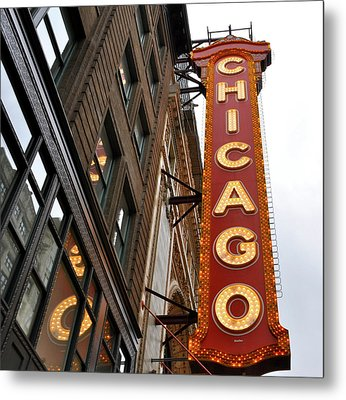 Metal Print featuring the photograph Chicago by Sheryl Thomas
