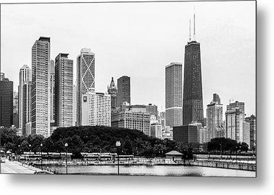 Chicago Skyline Architecture Metal Print by Julie Palencia