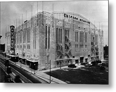 Chicago Stadium, Chicago, Illinois Metal Print by Everett