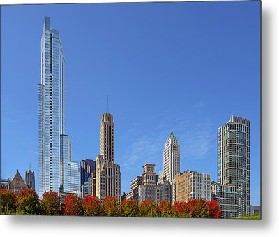 Chicago The Beautiful Metal Print by Christine Till