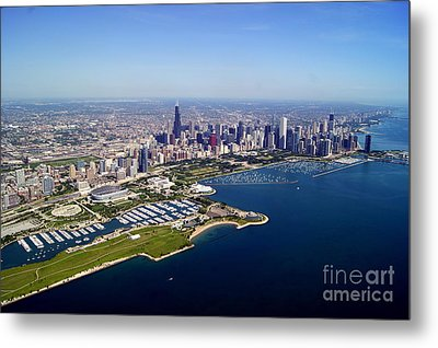 Chicago To North 2 Metal Print by Bill Lang