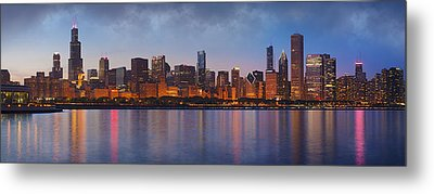 Chicago's Beauty Metal Print by Donald Schwartz