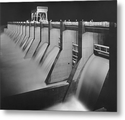 Chickamauga Dam, Built By The Tennessee Metal Print by Everett