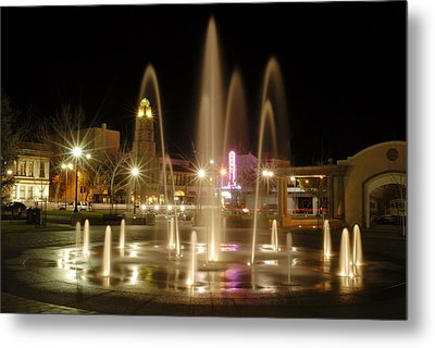 Chico Plaza Metal Print