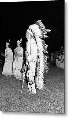 Chief  Red Bird Metal Print