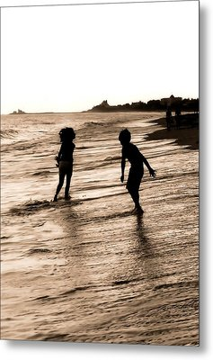 Metal Print featuring the photograph Childhood Memories by Laura DAddona