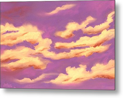 Childhood Memories - Sky And Clouds Collection Metal Print