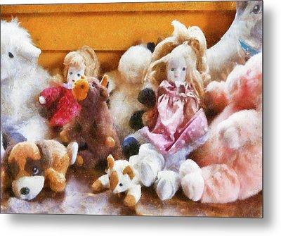 Children - Toys - Childhood Toys  Metal Print by Mike Savad