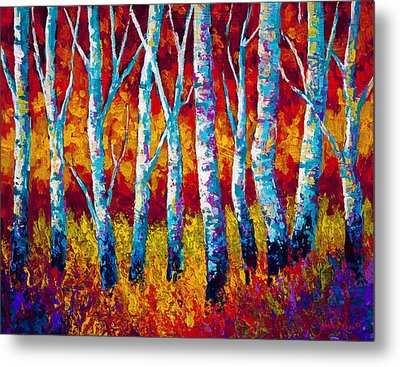 Chill In The Air Metal Print by Marion Rose