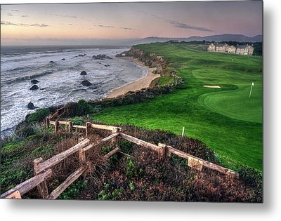 Metal Print featuring the photograph Chilling At Half Moon Bay by Peter Thoeny