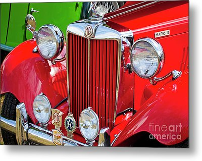 Metal Print featuring the photograph Chillipepper 1952 Mg by Chris Dutton