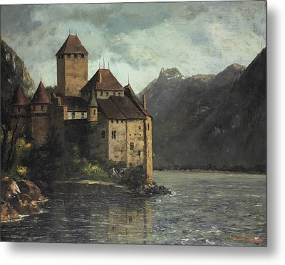 Chillon Castle Metal Print