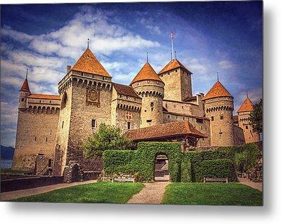 Chillon Castle Montreux Switzerland  Metal Print