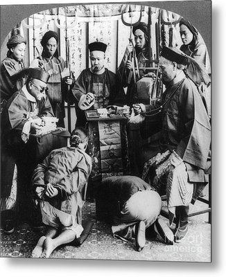 China: Boxer Trial, C1900 Metal Print by Granger