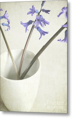 China Cup Metal Print by Lyn Randle