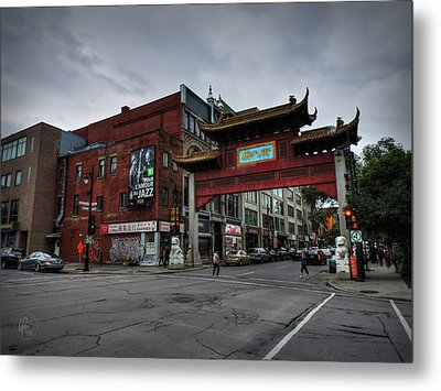 Chinatown Montreal 001 Metal Print by Lance Vaughn