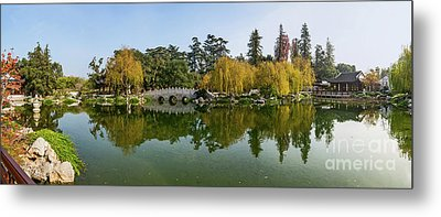 Chinese Garden At The Huntington Library. Metal Print by Jamie Pham