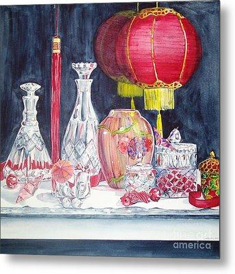 Chinese Lanterns No. 2 Metal Print