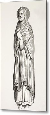 Chlothar I, Or Clotaire, Born C. 497 Metal Print by Vintage Design Pics