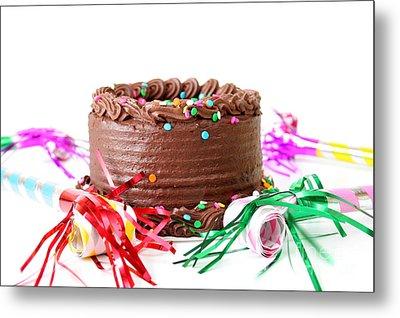 Chocolate Cake Metal Print by Darren Fisher
