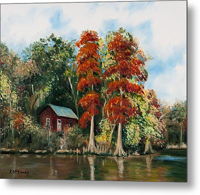 Choctawhatchee River Camp Metal Print