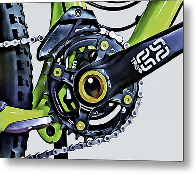 Metal Print featuring the digital art Choice Transport 1 by Wendy J St Christopher