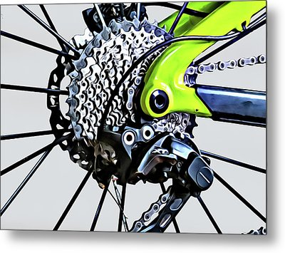 Metal Print featuring the digital art Choice Transport 2 by Wendy J St Christopher