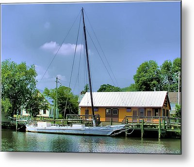 Choptank River Metal Print by Brian Wallace