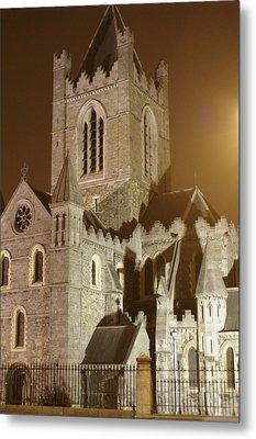 Christ Church Dublin Ireland Metal Print