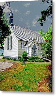 Metal Print featuring the photograph Christ Church by Rod Wiens