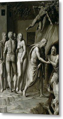 Christ In Limbo Metal Print
