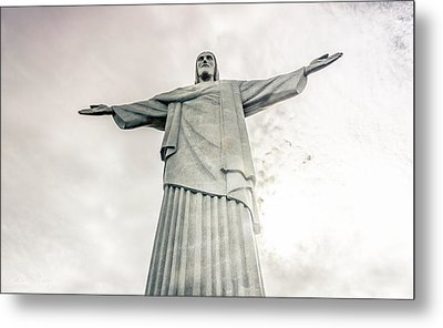 Metal Print featuring the photograph Christ The Redeemer by Andrew Matwijec