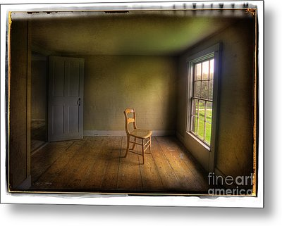 Metal Print featuring the photograph Christina's Room by Craig J Satterlee
