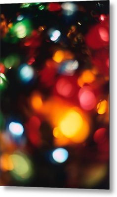 Christmas Abstract 2 Metal Print by Steve Ohlsen