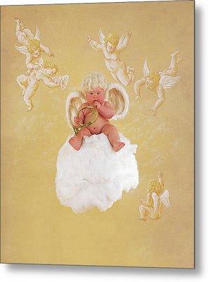 Christmas Angel Metal Print by Anne Geddes