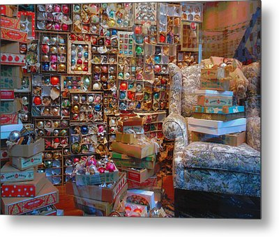 Christmas Chaos Metal Print by JAMART Photography