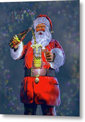Christmas Cheer Iv Metal Print